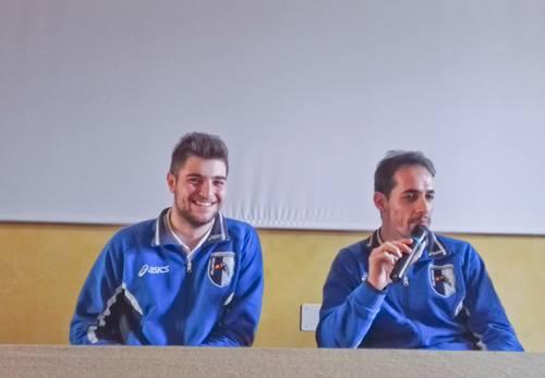 Sorlini e Tiberti alla scuola_Canossa