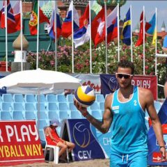 nono posto per Maurizio Montanari agli Europei di Beach Volley