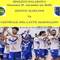 Serie A2M: a Spoleto contro la corazzata del Campionato