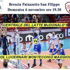 Serie A2M: al PalaSanFilippo arriva il Montecchio
