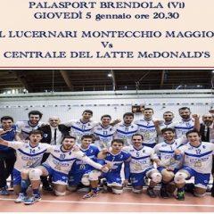 Serie A2M: a Montecchio per riprendere la marcia