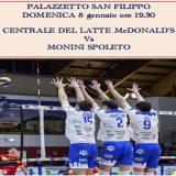 Serie A2M: al PalaSanFilippo arriva la capolista Spoleto