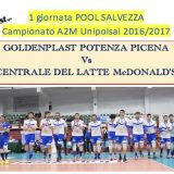 Pool Salvezza: si inizia con la trasferta a Potenza Picena