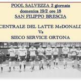 Serie A2M: arriva Ortona al PalaSanFilippo