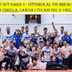 Serie A2M: vittoria nel segno di Cisolla
