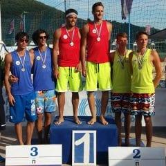 Fusco e Montanari: primo posto sulla sabbia di Cellatica!