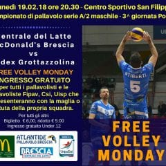 Atlantide lancia il Free Volley Monday!