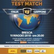 Italvolley femminile: test match con il Giappone il 10 maggio al San Filippo