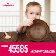 """La Serie A sostiene Helpcode e la campagna """"C'era una volta la cena""""."""