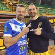 Brescia cede 4-1 a Verona nell'amichevole di lusso al PalaGeorge