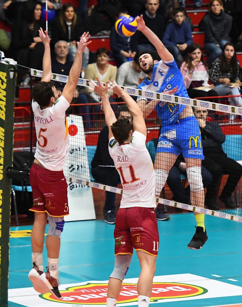 Fabio Bisi in azione al San Filippo
