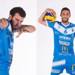 Fabio Bisi e Paolo Crosatti schiacceranno ancora per Brescia!