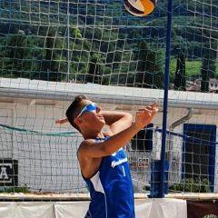 Riccardo Iervolino in Nazionale U18 di beach volley