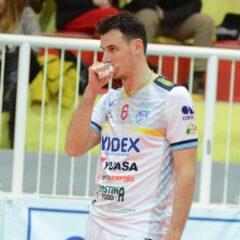 Stefano Giannotti è il nuovo opposto biancoazzurro